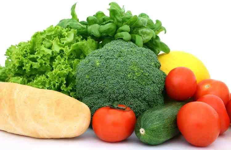 multitud de verduras, alimentos recomendados en la dieta sin gluten