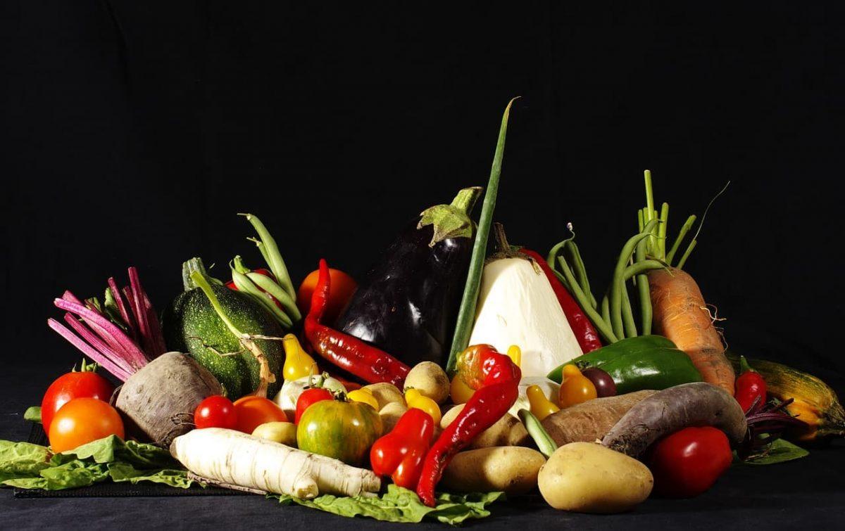 imagen de una variedad de verduras, alimentos excelentes para una dieta sin gluten exitosa